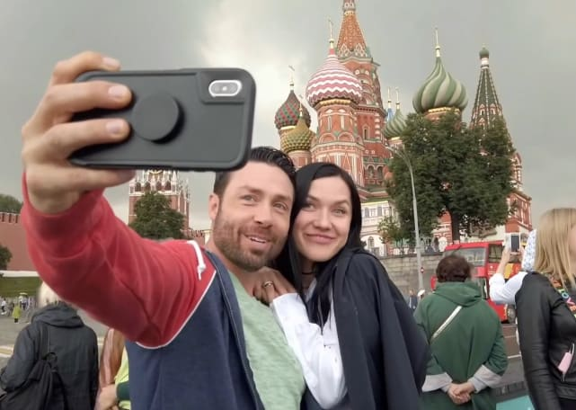 Geoffrey and varya in moscow