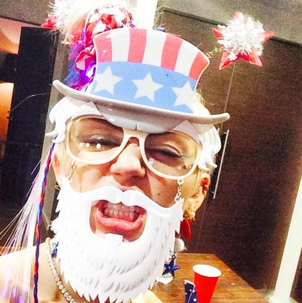 Miley Cyrus Loves America