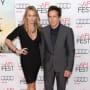 Ben Stiller with Christine Taylor