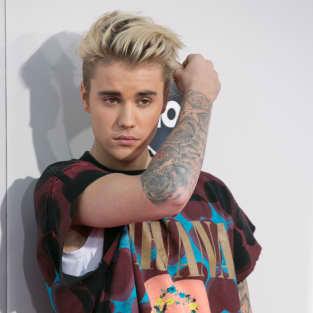 Justin Bieber at the AMAs