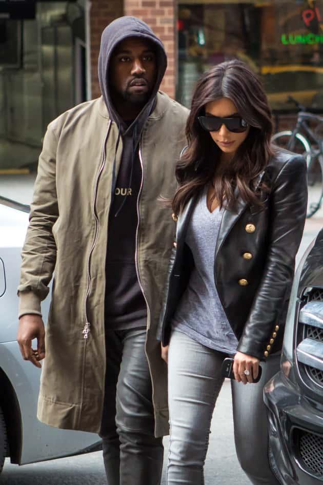 Kim Kardashian and Kanye West: Sad
