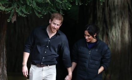 Prince Harry Snaps Truly Breathtaking Maternity Photo of Meghan Markle