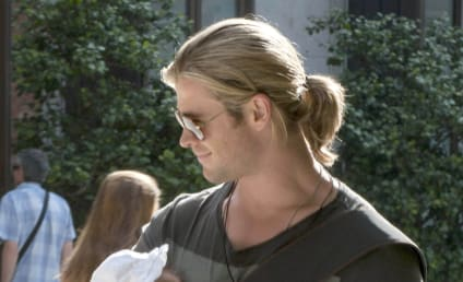 Baby Thor: Chris Hemsworth Cradles Newborn