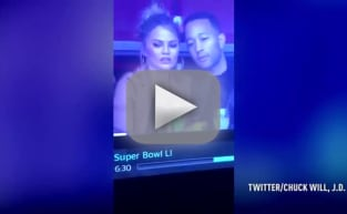 Chrissy Teigen Slips a Nip, Reacts Just Like Chrissy Teigen