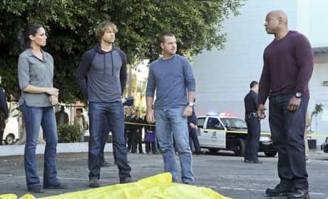 NCIS LA Scene