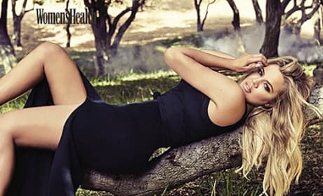 Khloe Kardashian in Women's Health