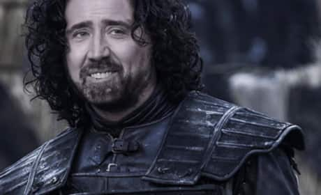 Nicolas Cage as Jon Snow