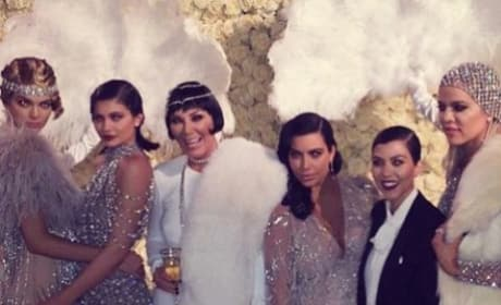 Kris Jenner Birthday Party Pic