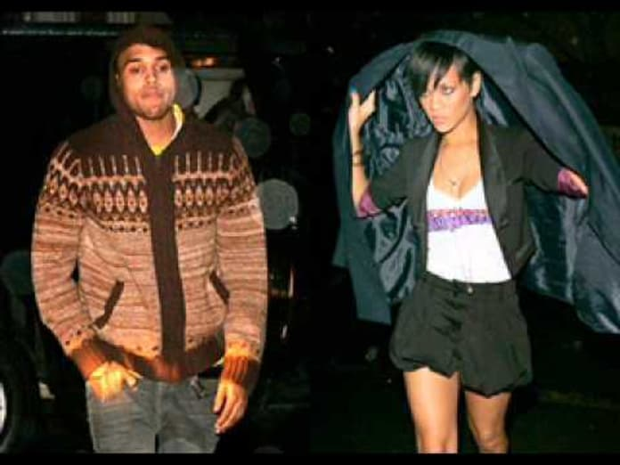 Rihanna And Chris Brown The Birthday Cake Turn Up The Music