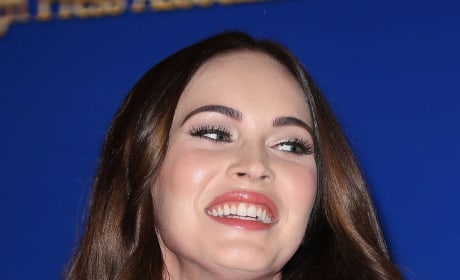Laughing Megan Fox