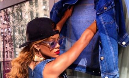Rihanna, Side Boob Model Canadian Tuxedo