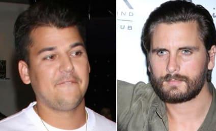 Rob Kardashian: Hankering to Beat Up Scott Disick For Cheating on Kourtney?