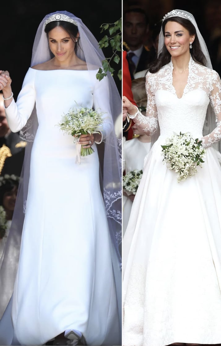 e7bd1101fc0a Royal Wedding Dress Debate: Who Wore It Better? - The Hollywood Gossip