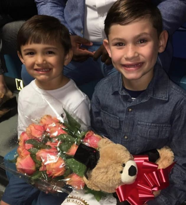 Kailyn Lowry Sons at Graduation