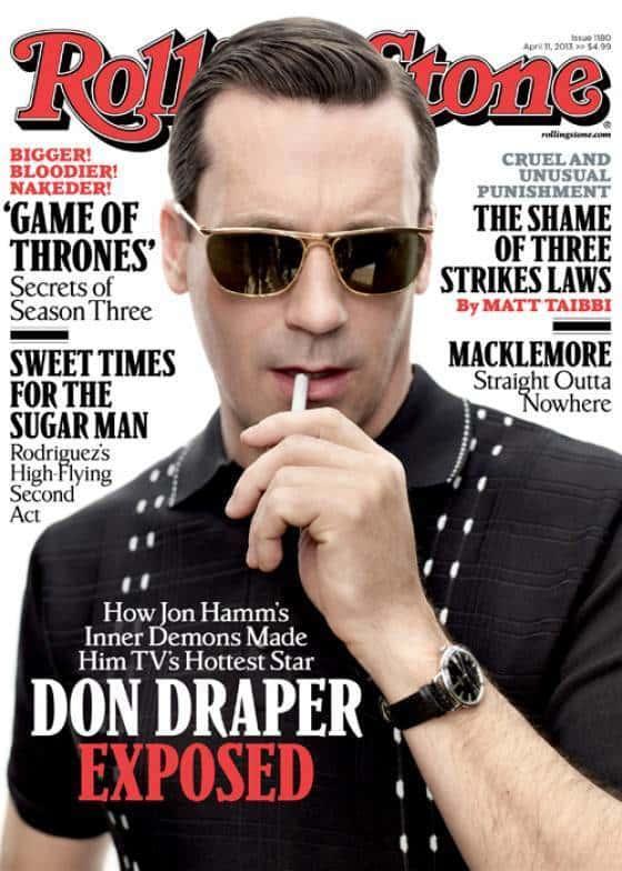 Jon Hamm Rolling Stone Cover