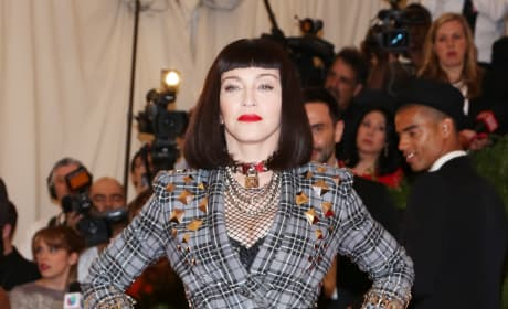 Madonna MET Gala Fashion