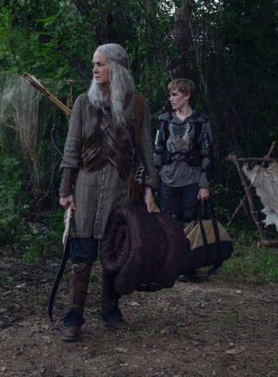 Carol and Henry - The Walking Dead