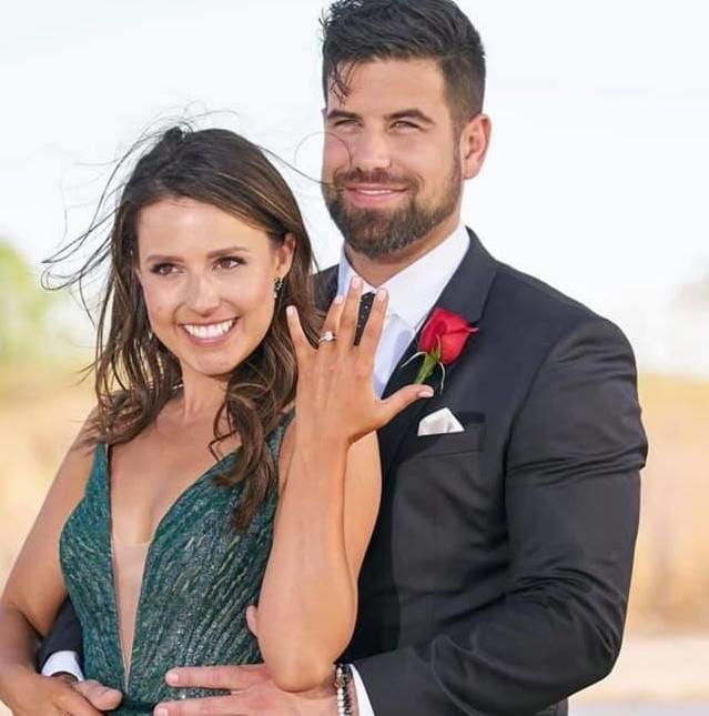 Katie thurston and blake moynes engaged