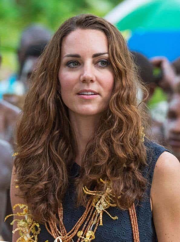 Kate Middleton Curly Hair