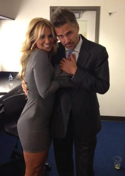 Cute Britney Spears and Jason Trawick Photo
