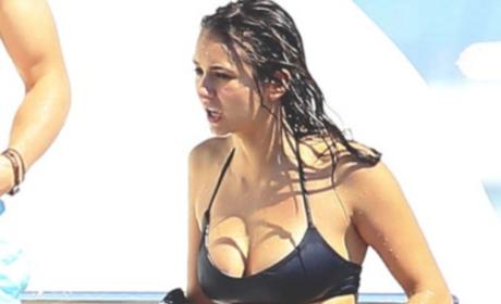 Nina Dobrev Bikini