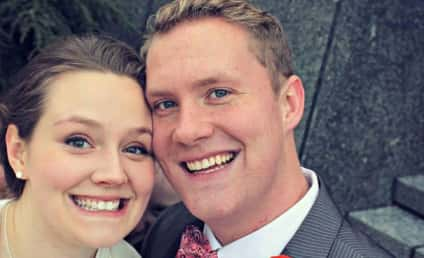 Couple's Wedding Picture Reveals Creepiest Photo Bomber of All Time