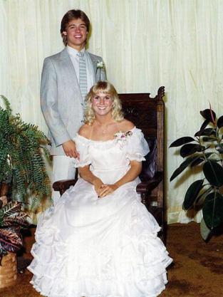 Brad Pitt Prom Photo