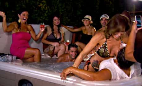 RHONJ Hot Tub Scene