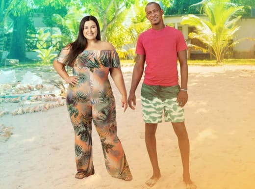 Aryanna and Sherlon for Love In Paradise: The Caribbean, A 90 Day Story