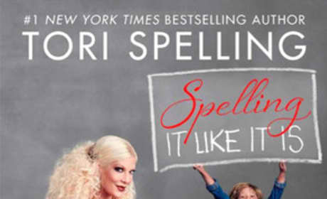 Tori Spelling Book Cover