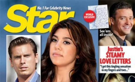 Kourtney Kardashian Tabloid Cover