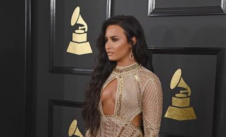 Demi Lovato at 2017 Grammy Awards