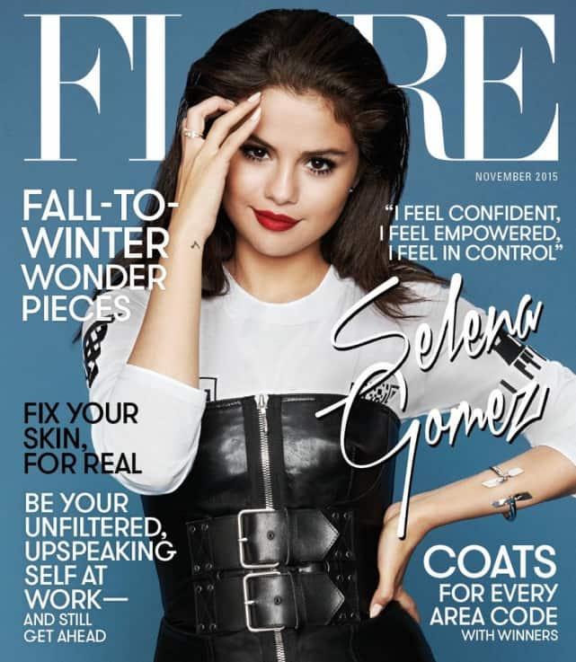 Selena Gomez on Flare