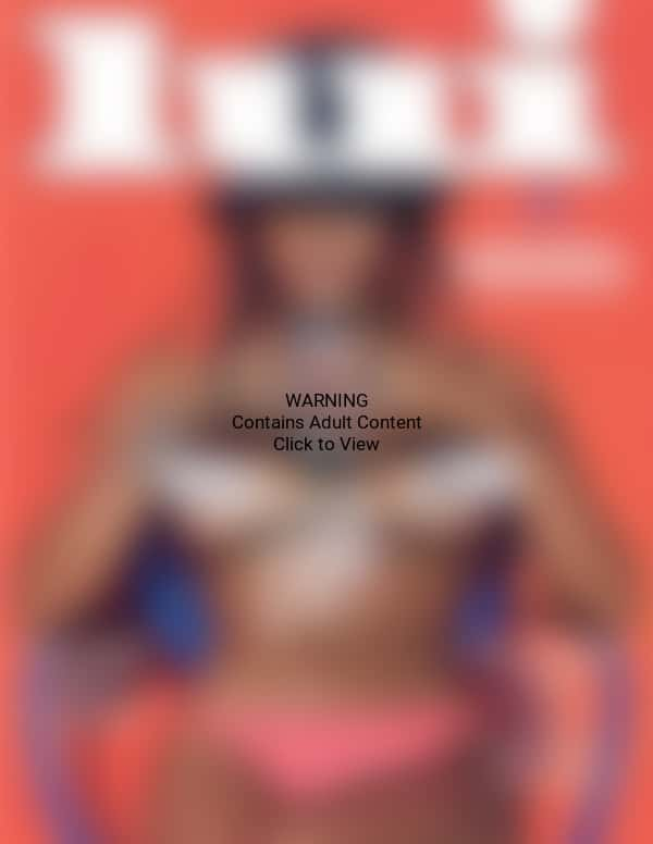 Topless Rihanna Cover