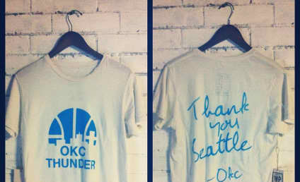 Oklahoma City Thunder T-Shirts Pulled After Death Threats From Bitter Seattle Fans