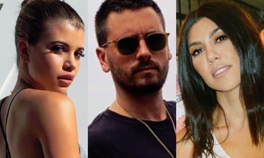 Sofia Richie, Scott Disick, Kourtney Kardashian Split