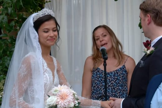 Michael Jessen et Juliana Custodio sont mariés