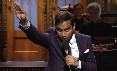 Aziz Ansari: Donald Trump is Just Like Chris Brown!