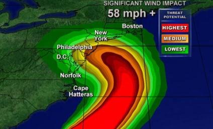 Hurricane Sandy Really No Big Deal, Lindsay Lohan Tweets