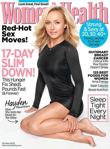 Hayden Panettiere Women's Health Cover