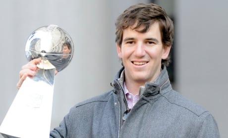 Eli Manning, MVP!