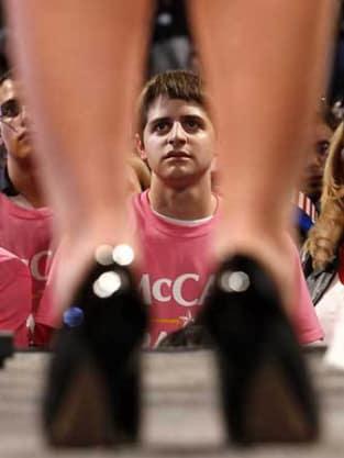 Sarah Palin Leg Photo