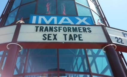 Movie Theater Inadvertently Advertises for Transformers Sex Tape