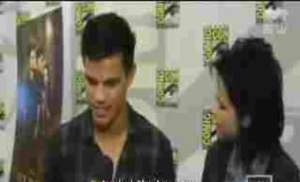 Point, Team Jacob! Kristen Stewart Plants Fake Kiss on Taylor Lautner