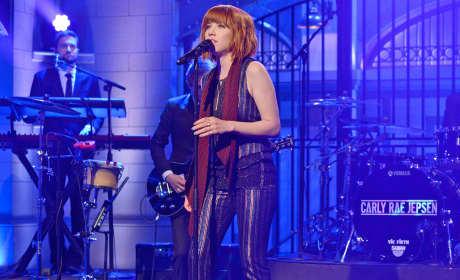 Carly Rae Jepsen on Saturday Night Live