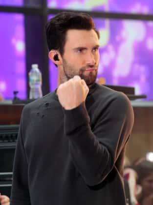 Adam Levine is Pumped