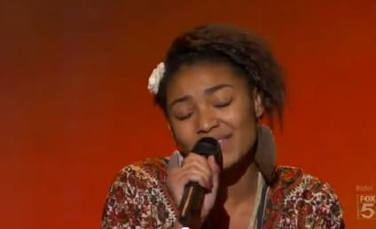 Symone Black Auditions in Hollywood, Falls Off Stage