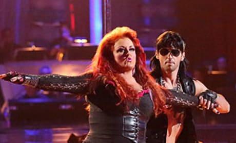 Wynonna and Tony Dovolani
