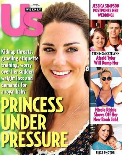 Kate Middleton Under Pressure