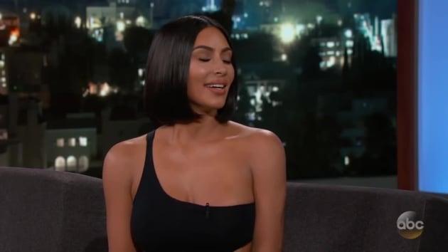 Kim Kardashian Reveals She Was Naked When Donald Trump